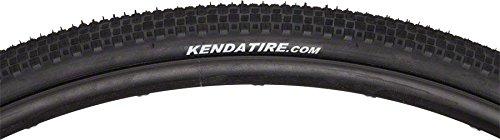 Kenda Karvs 700 x 28mm Folding All Black Tire w/Iron Cap Puncture Protection Belt.