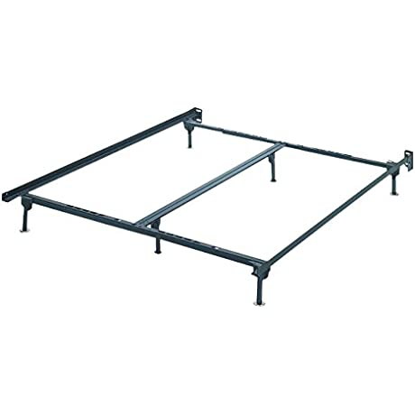Ashley Furniture Signature Design Frames And Rails Bolt On Bed Frame Queen King California King Size Contemporary Black