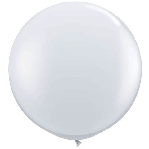 36 Inch Giant Round Crystal Clear Latex Balloons by TUFTEX (Premium Helium Quality) Pkg/3 for $<!--$9.99-->