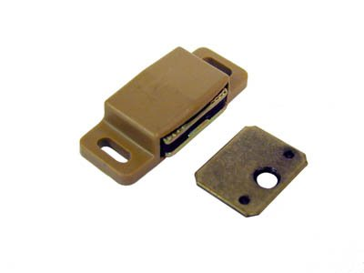 Amerock Single Magnetic Catch For Cabinet Door Tan - Amerock Magnetic Touch Latch