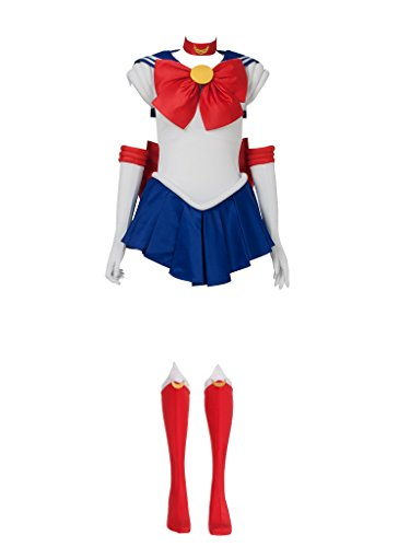 Sailor Moon Costumes For Adults (Cosfun Best Tsukino Usagi Serena Cosplay Costume mp000139 (M))