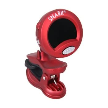 Snark SN-2 All Instrument Clip-On Chromatic Tuner (Red)