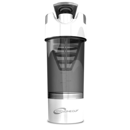 Cyclone Cup Shaker, White