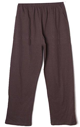 Hot Alion Men's Casual Cotton Pants Waist Home Sleep Pant for cheap