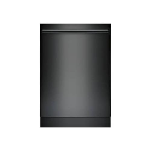 "Bosch Ascenta 24"" Tall Tub Built-In Dishwasher with Stainless-Steel Tub Black SHX5AV56UC"