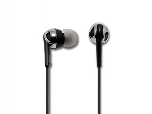 - SCOSCHE idr600 Increased Dynamic Range Noise Isolation Earphones - Retail Packaging - Black