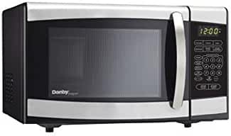 DMW077BLSDD .7 cu ft Countertop Microwave With 700 Watts Of Cooking Power 10 Power Levels 1-Touch Cooking Easy-To-Read LED Timer 6 Specialty Modes & In Stainless