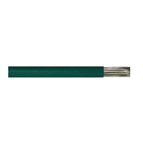 1500' M16878/1-BKE-5 14 AWG 19 Strands 600V Tinned Copper PVC Insulation Green Lead Wire