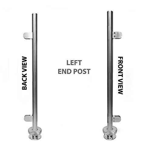 Handrail System (Stainless Steel 316 [Marine Grade] Handrail Railing Systems [Custom-made] 1-1/2