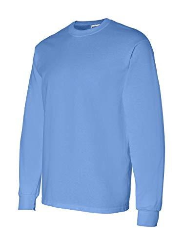 (Gildan Mens 5.3 oz. Heavy Cotton Long-Sleeve T-Shirt G540 -CAROLINA BLU M)