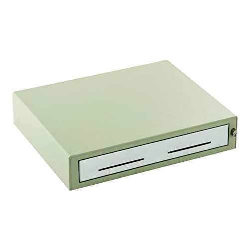 MMF Industries Heritage 15-Inch Cash Drawer with Cable, Putty (22611315131289A) (Mmf Heritage Drawer)