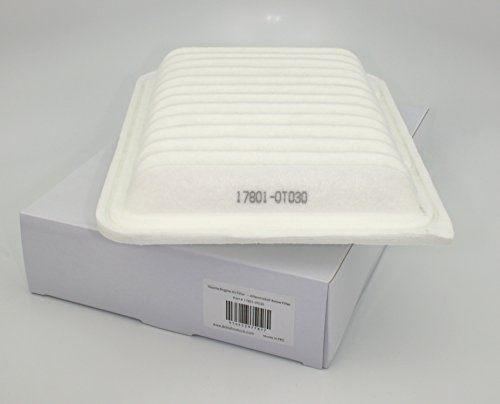 Toyota Aftermarket 17801-0T030 Air Filter Element - Corolla, Yaris, Matrix, Scion Xd, Others ()