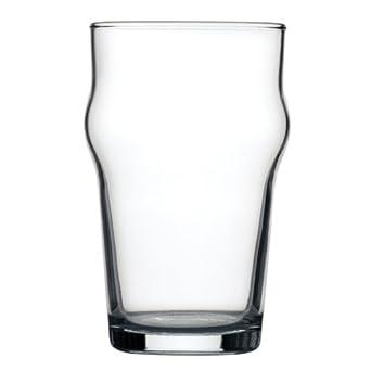 Arcoroc Nonic - Vasos de cerveza (285 ml, marca CE, 285 ml) Con certificado CE. Cantidad del paquete: 48.
