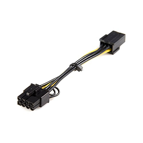 StarTech.com PCI Express 6 pin to 8 pin Power Adapter Cable (PCIEX68ADAP)