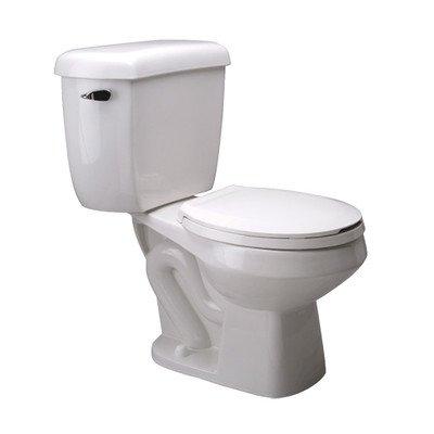 Zurn Z5576 Round Front Pressure Assist, 1.0 gpf, Two-Piece Toilet