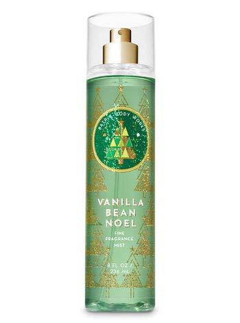 (Bath and Body Works Holiday Traditions Vanilla Bean Noel Fine Fragrance Mist, 8.0 Fl Oz)