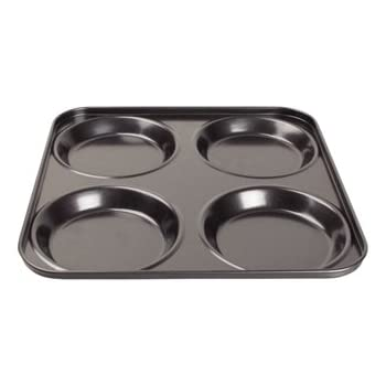 Yorkshire Pudding Large Tin Heavy Gauge Non-stick Oven Cake Tray Kitchen