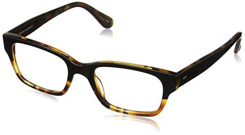 Corinne McCormack Women's Sydney 1013723-150.CMC Rectangular Readers, Black/Tortoise Fade, 59 - Glasses Sydney Prescription