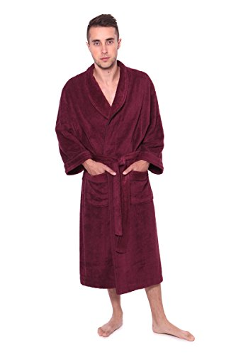 texere-mens-terry-cloth-bathrobe-robe-ecocomfort-burgundy-large-x-large-gifts-for-husband-boyfriend-