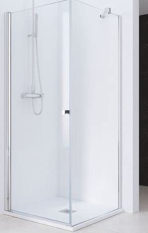 Mampara de ducha fija de unión lateral para serie hada: Amazon.es ...