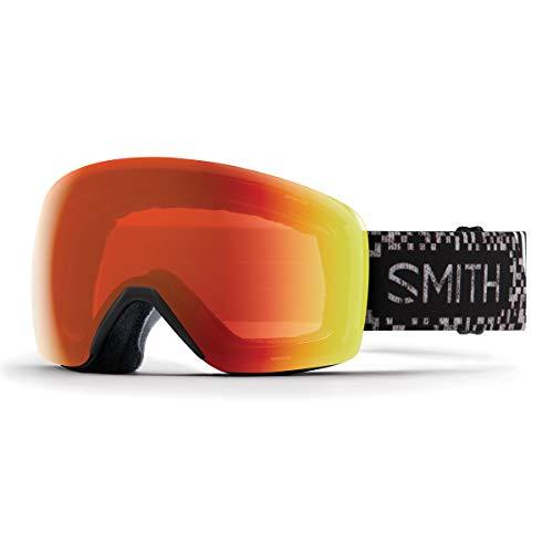 Smith Optics Skyline Adult Snow Goggles - Game Over/Chromapop Everyday Red Mirror/One Size