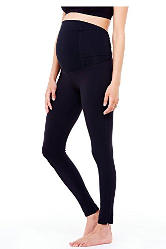 Ingrid & Isabel Women's Maternity Active Legging with Crosso