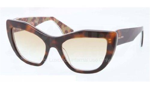 Miu Miu 02PS ROQ9S1 Tortoise 02PS Rasoir Cats Eyes Sunglasses Lens Category - Sunglasses 2014 Top Mens