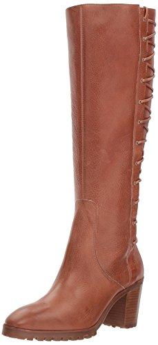 Bernardo Women's Frances Knee High Boot, Cognac Tumbled Oil, 7M M US