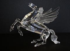 Swarovski Limited Editions (Swarovski Pegasus 1998 SCS #216327 Annual Limited Edition)