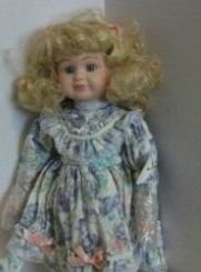 - Princess House LAUREN School Girl Porcelain Collectible Doll