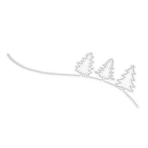 Staron Merry Christmas Metal Cutting Dies Cut Die Stencils Template Xmas Decor DIY Scrapbooking Embossing Album Paper Card Craft (O)