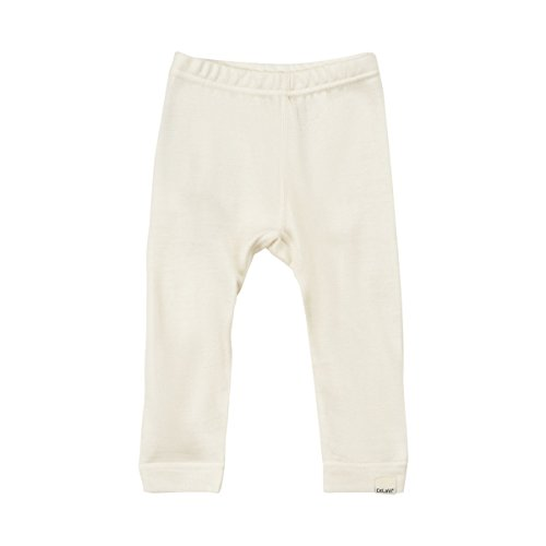Unisex Wool Bamboo Baby Toddler Pants Bottoms Base Layer  Offwhite  6 12 Months  Off White