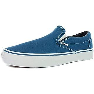 Vans Men's Classic Slip ON Skate Shoes 6.5 (Navy)