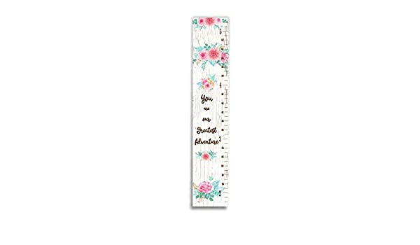 Amazon Floral Growth Chart Kids Room Decor New Baby Gift