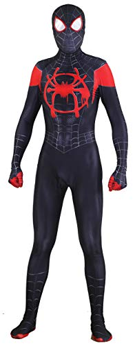 Riekinc Superhero Zentai Bodysuit Halloween Adult/Kids Cosplay Costumes]()