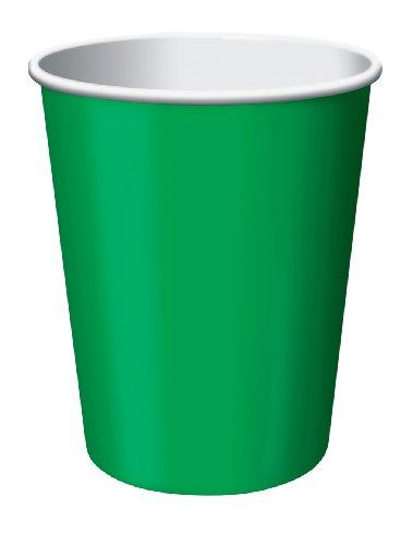 Paper Cold Cups Pkg Emerald Green