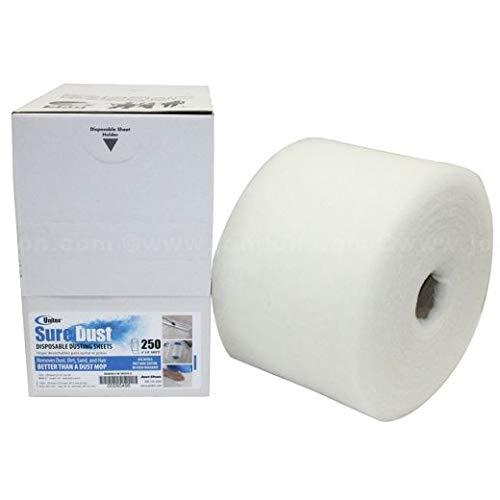 Unitex Sure Dust Disposable Dusting Sheets, 250 Sheets (3 Units)