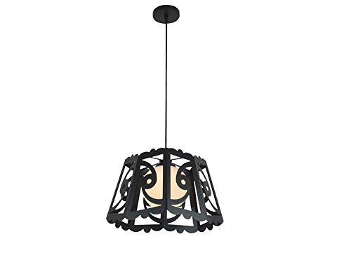 Plafonnier Créativité Personnalité Matériel Noir Transparent Creux Abat-Jour Restaurant Chambre Salon Salon Lampe De Chevet