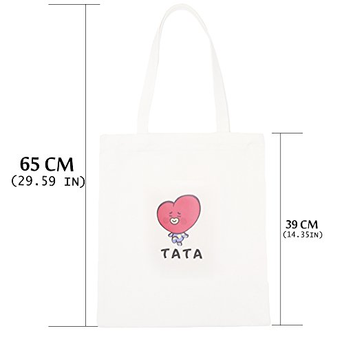 Messenger Bag Boys BTS Canvas Bangtan Bag Yuxareen 5 Tote Shoulder Printed H02 Bag Canvas Kpop PnzqZ