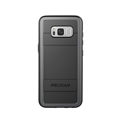 (Pelican Protector Samsung Galaxy S8 Case - Black/Light Grey)
