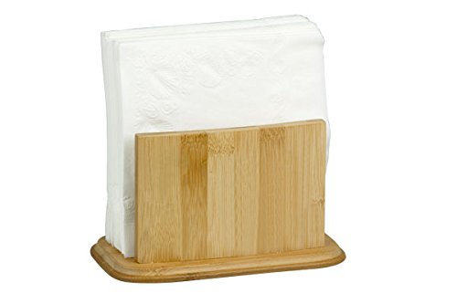Home Basics Napkin Holder, Bamboo