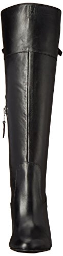 Women's Halina Black Burnished Vachetta Lauren Ralph Boot Black Lauren qExSwRt