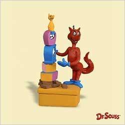 Hallmark Keepsake Ornament Dr Seuss 8th in Series Fox in Socks 2006