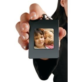 Digital Photo Album With Keychain (Black) ()