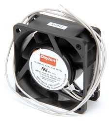 Dayton 2RTE4 Axial Fan, 2 3/8 In Sq, 18 CFM, 115 V
