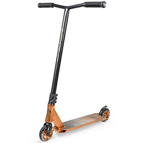 VOKUL K1 Complete Pro Scooter for Kids Boys Girls Teens Adults Up 7 Years - Freestyle Tricks Pro Stunt Scooter with 110mm Metal Wheels - High Performance Gift for Skatepark Street Tricks (Renewed) (Vokul Pro Scooter)