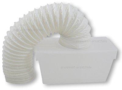Kondensbox für ablufttrockner trockner inkl abluftschlauch