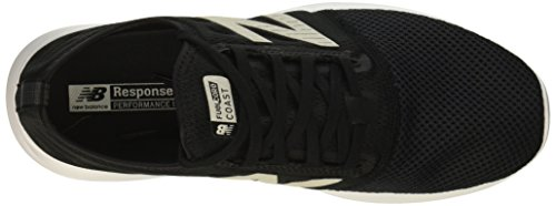 New Balance Women's Fuel Core Coast V4 Running Shoes Black/White 7aOHjVltL