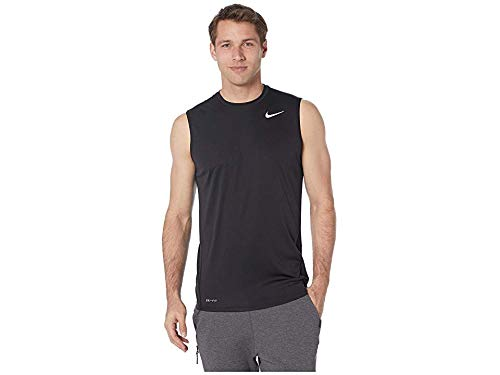 397c108653df3 Nike Men's Solid Sleeveless Hydroguard