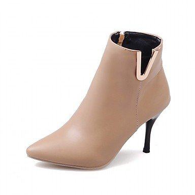 RTRY Women'S Boots Spring Fall Winter Platform Comfort Novelty Patent Leather Leatherette Wedding Office &Amp; Career Dress Casual Party &Amp; Evening US8.5 / EU39 / UK6.5 / CN40 zUUjhXO2e